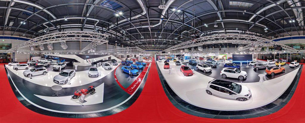 360° Bild Vienna Autoshow